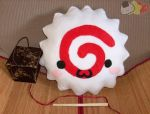 Naruto Fish Cake Pillow by LiLMoon