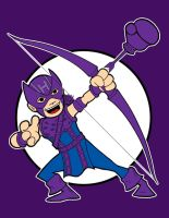 Hawkeye remastered by AlanSchell