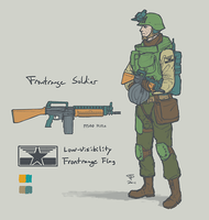 Frontrange Soldier by Pyrosity