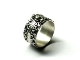 Ornate Ring by silver-zaira