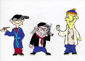 The Eds and Channel Awesome CO by XaviorTheLycan