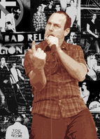 Greg Graffin collage by DrDyson