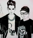 Tokio Hotel'amour iv by JustHereToView