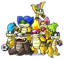 Royal Koopas of Seven by Zenfyre