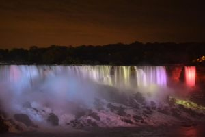Lighting The Falls by Gr8-Gatensby