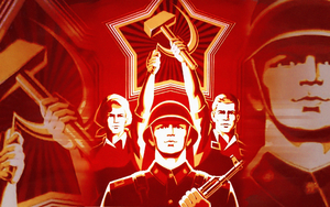 Soviet Wallpaper by HeliusFlame