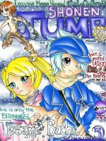 .:Shonen Jump: Cover Entry:. by Digital-Dorkster