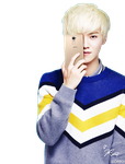Luhan PNG - Render by KorecanMelike