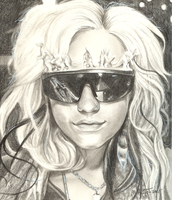 Ke$ha by Chicken-Priestess