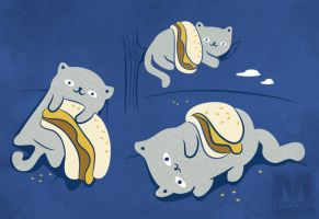 The Persistence of Cheezburgers by MeghanMurphy