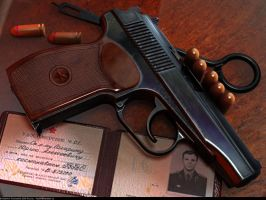 Gagarin's Makarov by VladiT