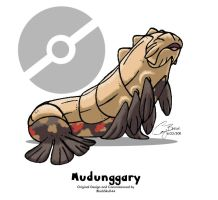 Commission Pokemon Mudunggary by BlueCea