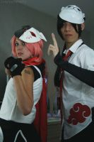 Anbu Sakura and Itachi by Cosplayography