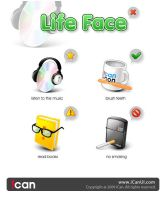 Life Face by iCanUI