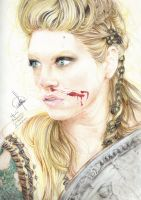 Lagertha by Kustarajengi