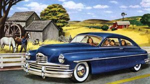 age of chrome and fins : 1950 Packard by Peterhoff3