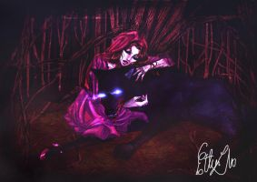 red riding hood color 2 by Estherrulez