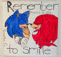 Sonic Boom: Remember to smile by Cynderthedragon5768