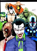 Rogues Gallery by LangleyEffect