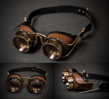 Eldridge steampunk goggles by LahmatTea