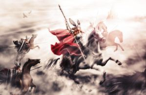 Ride of the Valkyries by LivingHorus