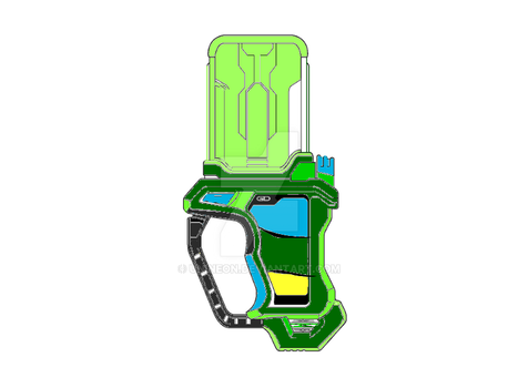 Ikuze painter (my own kamen rider gashat) beta by Unineon