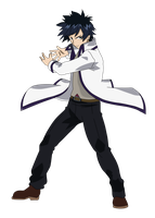 Gray Fullbuster   Fairy Tail Render By Eternalfree by totobuha