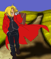 Edward Elric FMA Update by yousam