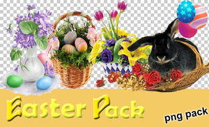 Easter Pack by Mirkee10