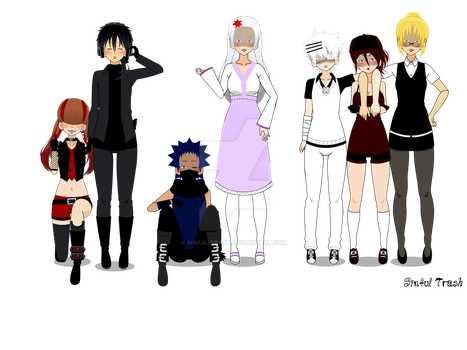 Soul Eater AU-Soulless (Remake) by Sinful-Trash
