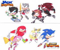 Jack and Sonic BOOM! by sonic4ever760