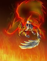 Griffin of Flame by bolthound