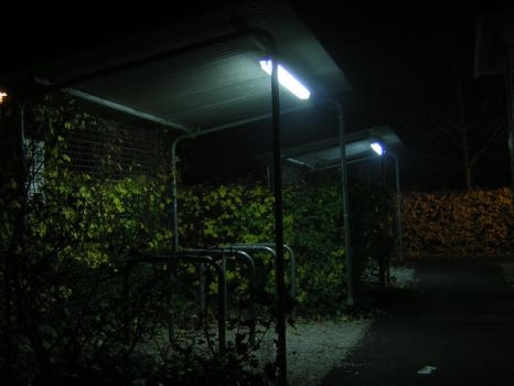The Scariest Bike Shelter EVER by AnAngryMike