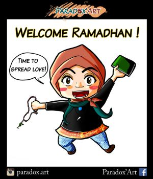 Welcome Ramadhan 2016 by Fidia95