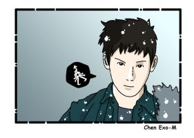 Exo-M Chen by ILICarrieDoll