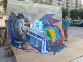 Music of Street Art by maksiov