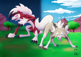 Lycanroc sun and moon