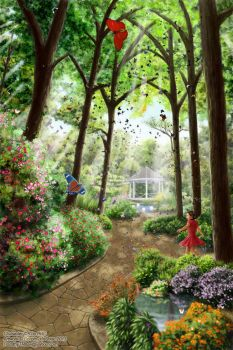 The Butterfly Room by Dorothy-T-Rose