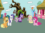 Remembering The Golden Oak Library by equestriaguy637
