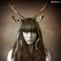 DEER GIRL by JenHell66