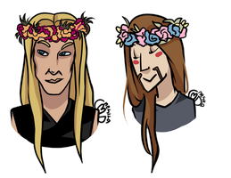 Flower crowns by NeskaMD