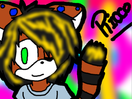raving red panda .:RICCO:. by TeaTheHamster