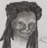 Whoopie Goldberg -request- by DivianaAjatar