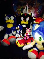 Part Of The Sonic Stuff I've Been Collecting! C: by SoniatheHedgehog365
