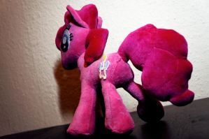 Pinkie Pie Plushie V2.0 -Shot 3 by Rariedash