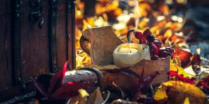 autumn candle by vularia