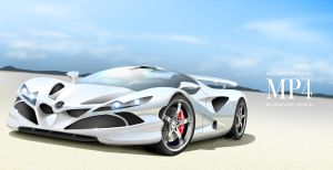 Mclaren Mercedes MP4 by armandodesign