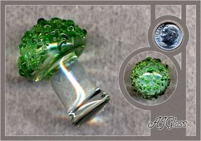 Glass Mushroom by AJGlass
