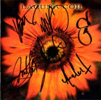 Lacuna Coil Autograph by DemonicDesigns
