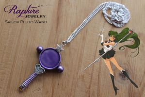 Sailor Pluto Wand Pendant by RaptureJewelry